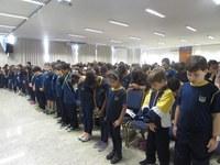 Alunos do Colégio participam de assembleia comemorativa ao Dia do Metodismo