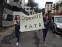 Alunos do Colégio Metodista Granbery fazem passeata contra a dengue