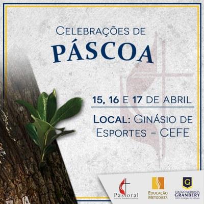 Celebrações de Páscoa iniciam na próxima semana