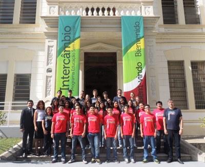 Colégio Metodista Granbery recebe intercambistas peruanos no Programa Educação sem Fronteiras