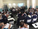 2º's anos do EM apresentam trabalho sobre Energia Nuclear