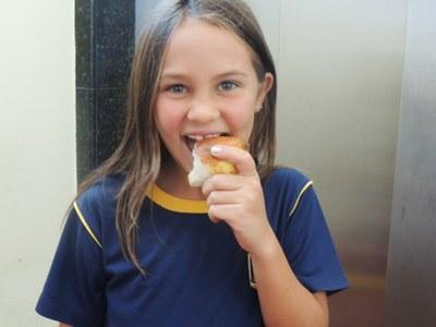 Alimentação saudável influencia no desenvolvimento intelectual e físico do aluno