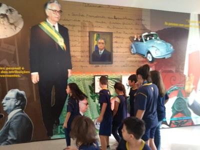 Alunos visitam Memorial da República
