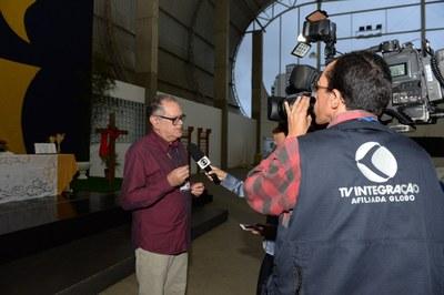 Colégio participa de matéria sobre a Páscoa na TV Integração