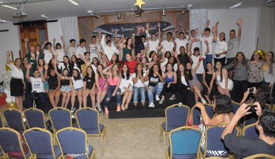 Colégio promove celebração de final de ano para as turmas do 9º ano