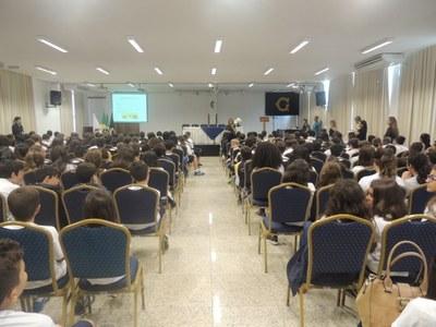 Febre Amarela é tema de palestra para os alunos do Fundamental I e II