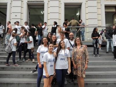 Granberyenses participam do encerramento do projeto Câmara Mirim 2019