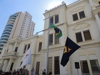 Hora Cívica marca início da Semana Granberyense