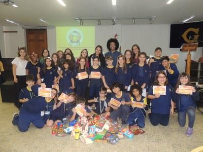 Instituto Bruno realiza palestra aos alunos dos 4º's anos