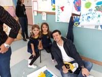 Manhã especial: papais da educação infantil realizam atividades com os alunos