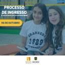 Processo de Ingresso do 2º ano do Fund I ao Ensino Médio acontece neste sábado