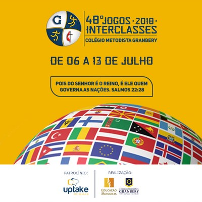 Tabelas dos Jogos Interclasses 2018