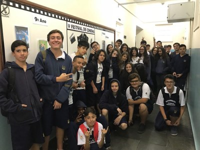 V Festival de Cinema proporciona cultura e aprofunda a leitura dos alunos