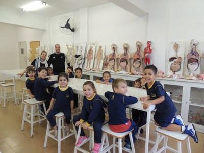 Projeto Siemens traz conhecimento científico para os alunos da Educação Infantil